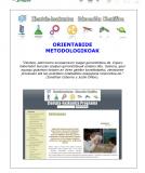 ZIENTIZA METODOLOGIA -Berrilasarte